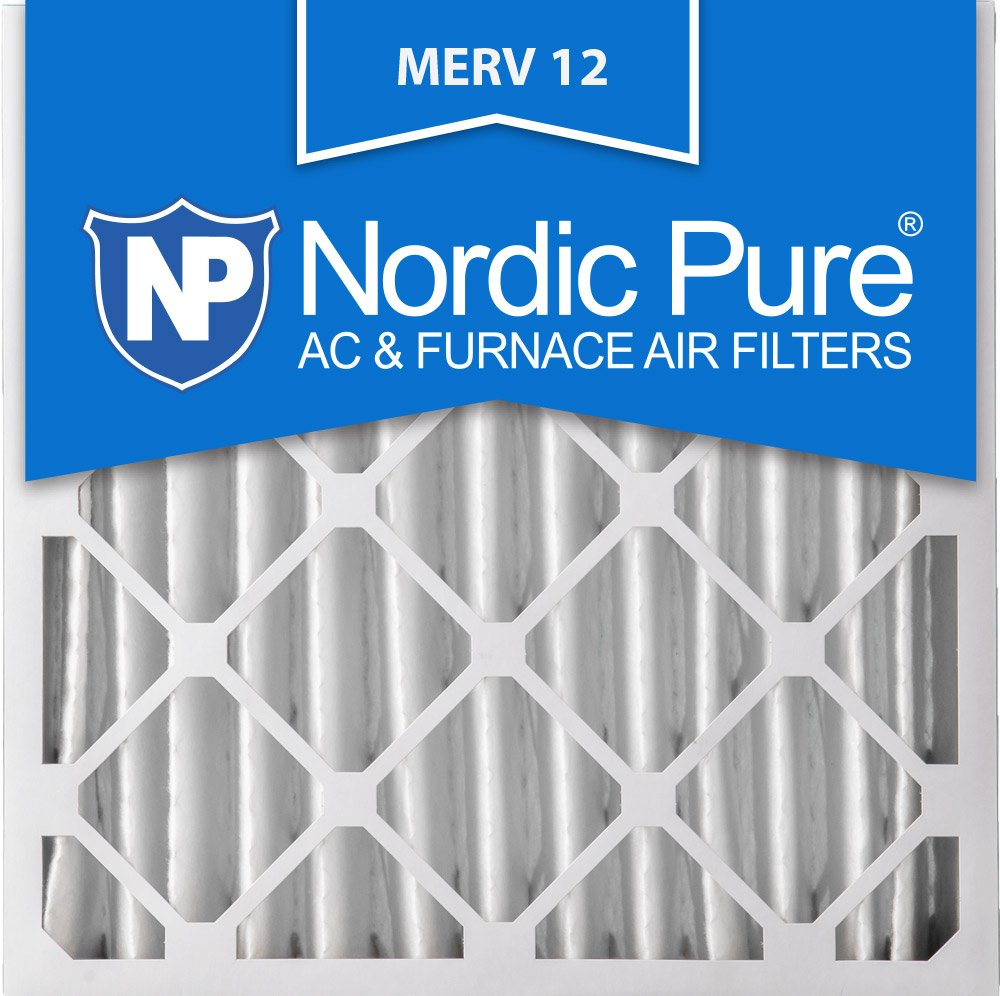 Nordic Pure 20x20x4M12-2 AC Furnace Air Filters MERV 12, Box of 2 by Nordic Pure (Image #1)