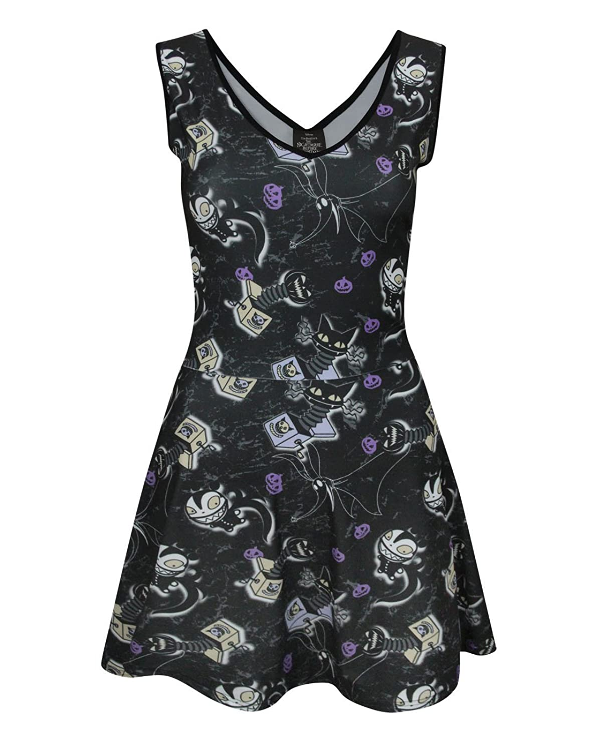 Amazon.com: Official Nightmare Before Christmas Vampire Teddy Dress ...
