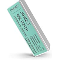 Onsen Professional Nail Buffer, Ultimate Shine Nail Buffing Block With 3 Way Buffing Methods, Smooth & Shine After Onsen…