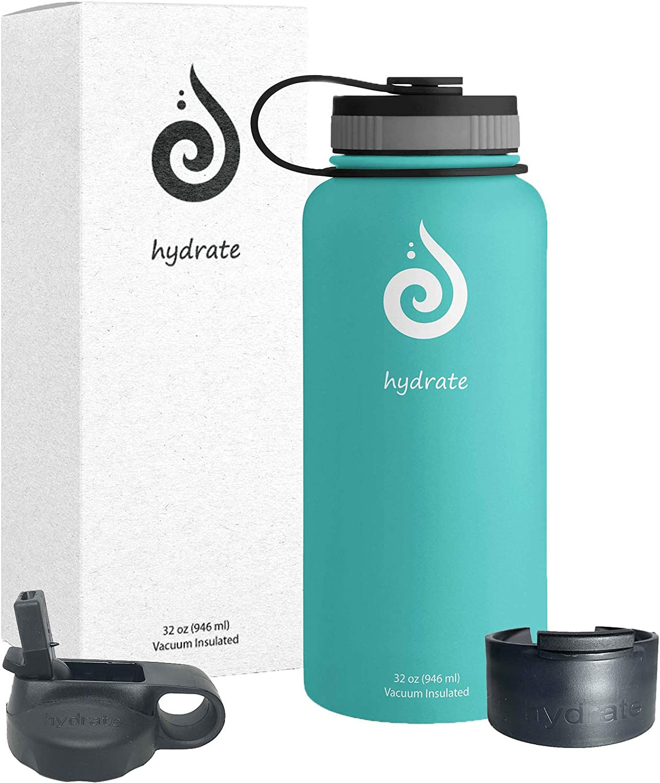 Botella De Agua De Alta Capacidad LJP Jarra De Vac/ío,Botella De Agua De Acero Inoxidable Dormitorio Termo Agua Caliente Color : A