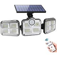 Foco Solar Led Exterior con Sensor de Movimiento - Luces Solares led Exterior…