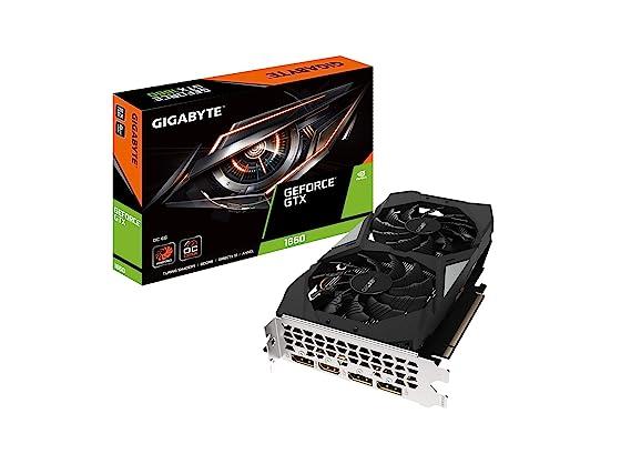 Gigabyte GeForce GTX 1660 OC 6G Graphics Card, 2X Windforce Fans, 6GB 192-bit GDDR5, Gv-N1660OC-6GD Video Card
