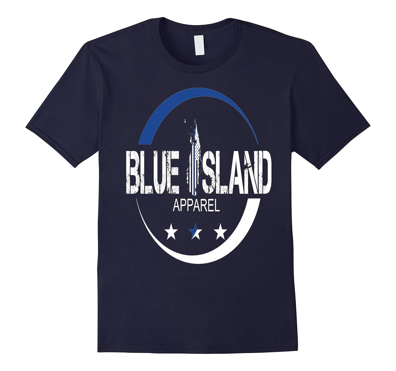 Brand Blue Island Comfort-Feel Tee-TH