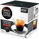NESCAFÉ DOLCE GUSTO ESPRESSO INTENSO DECAFFEINATO caffè espresso decaffeinato 3 confezioni da 16 capsule [48 capsule]