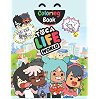 Taco Life Coloring book: Awesome Coloring Book For Kids And Adults With High-Quality Illustrations Of TOCA BOCA WORLD…