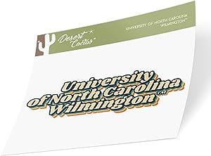 University of North Carolina Wilmington UNCW Seahawks NCAA Vinyl Decal Laptop Water Bottle Car Scrapbook (70's Name Sticker)