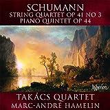 Schumann: String Quartet (String Quartet Op.41 No.3/ Piano Quintet Op.44)