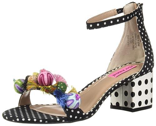 ba2c9ed5a614 Betsey Johnson Women s Lulu Heeled Sandal  Amazon.co.uk  Shoes   Bags