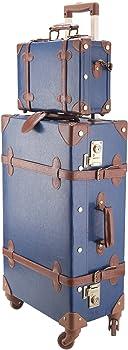 CO-Z Premium Vintage Luggage Set