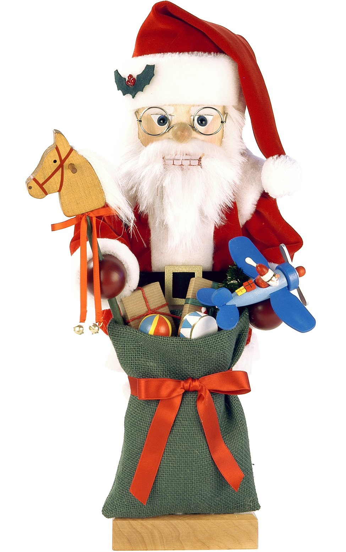0-463 - Christian Ulbricht Nutcracker - Santa with Toys - Ltd Edition 1000 pcs - 18.25''''H x 8''''W x 8.25''''D by Alexander Taron Importer