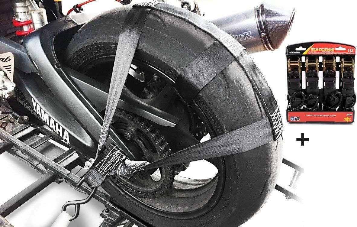 Hinterrad Spanngurt Set Für Ducati Streetfighter V4 S Auto
