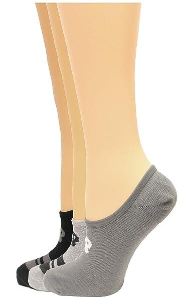 66310d0d283b2 New Balance Ultra Low No Show Socks, (L) Men's 9-12.5/ Women's 10-12,  Black/Grey/Grey, 3 Pair at Amazon Women's Clothing store: