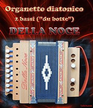 Organetto Acordeón diatónico 2 bajos Della Noce Modelo ...