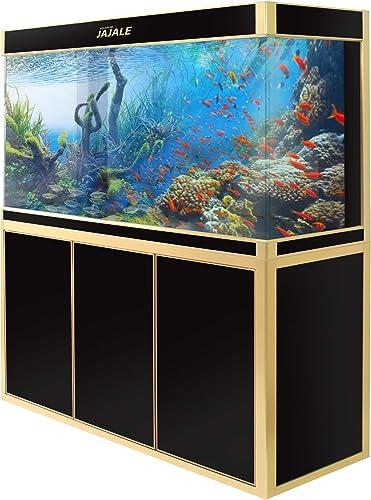JAJALE-Aquarium-135-Gallon-with-Fish-tank-Stand