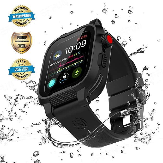 Amazon.com: Apple Watch Waterproof Case for 44mm Apple Watch ...