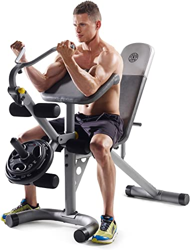 Gold's Gym XRS 20 Olympic Workout Bench Without Rack
