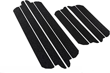 Door Sill Step Protector Threshold Shield Pads Fits 2009-2018 Dodge Ram 1500 2500 8pc