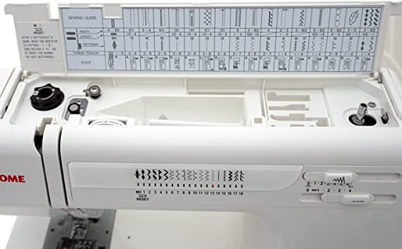 Janome HD3000 - Máquina de coser mecánica con estuche rígido ...