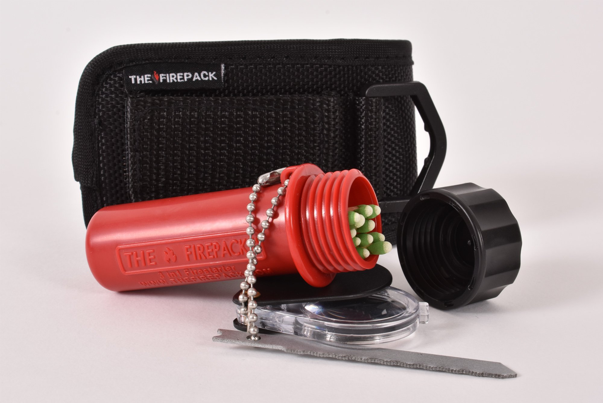 The FirePack 3-in-1 Fire Starting Tool