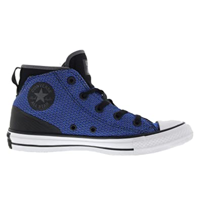 Converse Chuck Taylor All Star Syde Street Mid Black Womens Canvas Trainers