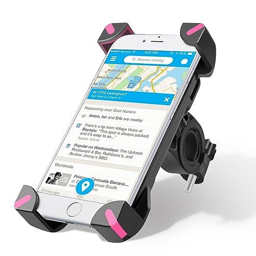 160 opinioni per Supporto Bici Smartphone, Wrcibo Supporto Manubrio Universale Bici Moto porta