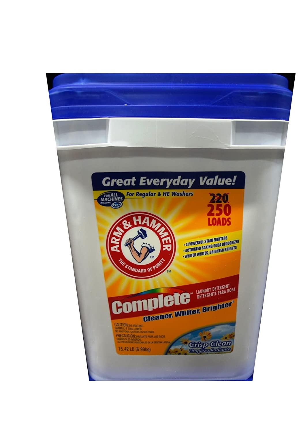 Is arm and hammer powder laundry detergent he - Amazon Com Arm Hammer Powder Laundry Detergent 18 Pound Health Personal Care