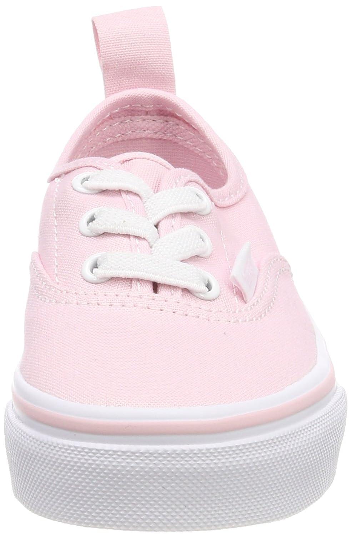 92a66c57d2b814 Zapatillas de skate Vans Kids Authentic Elastic (Valentines) Chalk Pink True  White