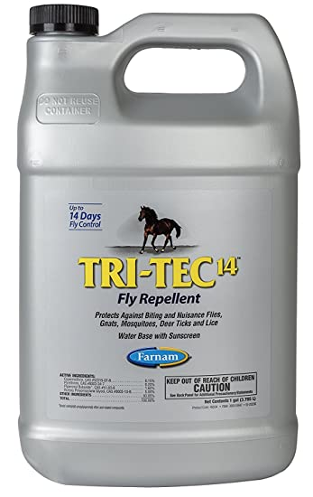 Tri Tec 14 Fly Repellent Refill For Horses   2 Pack