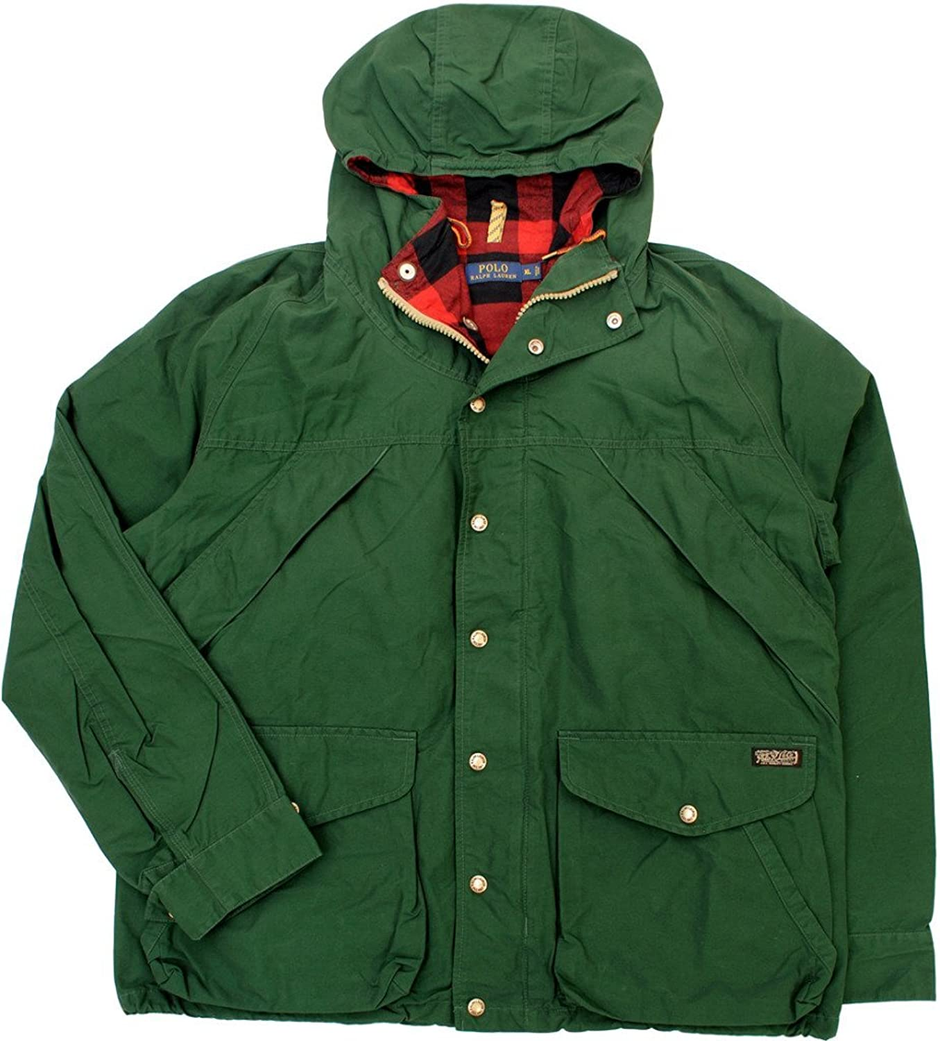 Polo Ralph Lauren Men\u0027s Foster Falls Hooded Jacket, Norhtwest Pine, XL at  Amazon Men\u0027s Clothing store: