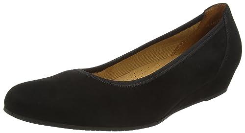 Gabor Ballerina schwarz Größe 44.5: : Schuhe