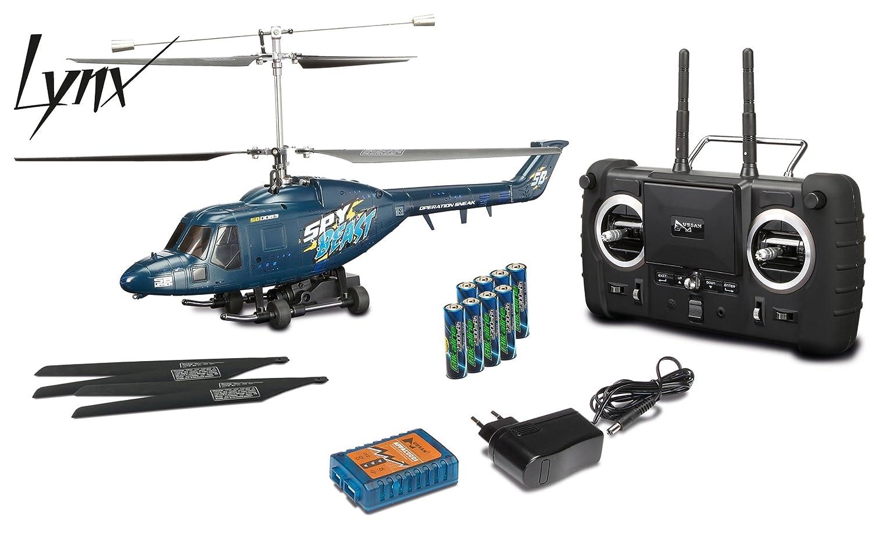 Carson FPV Spy Beast Helikopter mit Kamera und Livebildübertragung, 2,4 GHz