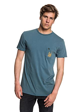 Parcourir La Vente Prix Incroyable Vente Shook Up - T-shirt col rond pour Homme - Bleu - QuiksilverQuiksilver M19NE