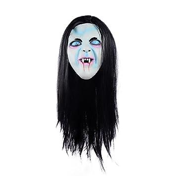 Ohuhu Máscaras para Halloween, Máscaras Sadako, Halloween Máscaras, Máscara del Horror de la