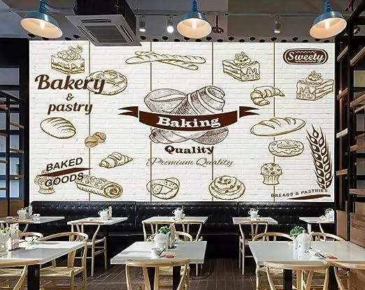 ADDFLOWER Fondo de pantalla personalizado Panadería Pastelería ...