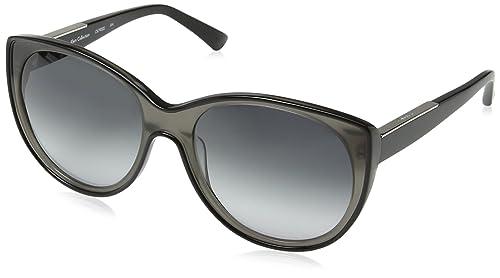 Calvin Klein - Gafas de sol Wayfarer CK7900, 001 Black & Grey