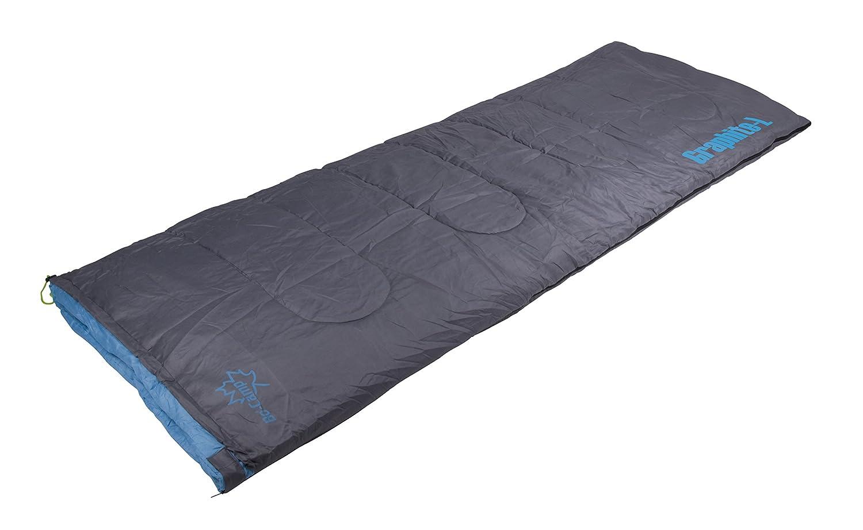 Bo Camp Graphite L Saco de dormir formato s/ábana 200 x 80 cm