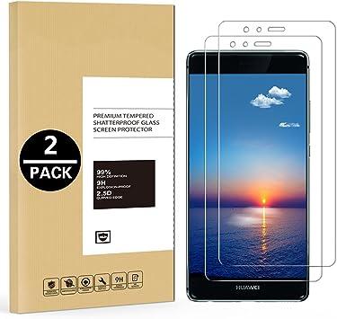 Mosoris 2 Pack Protector de Pantalla para Huawei P9 Lite, Protector ...