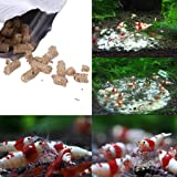 Dabixx 40 g Natto de nieve camarón de caracol alimento de alimentos para acuario pecera estanque