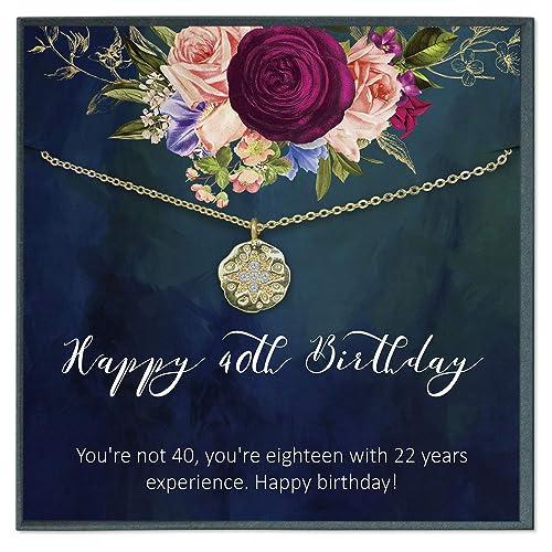 Grace of Pearl - Regalos de 40 cumpleaños para Mujer, 40 ...