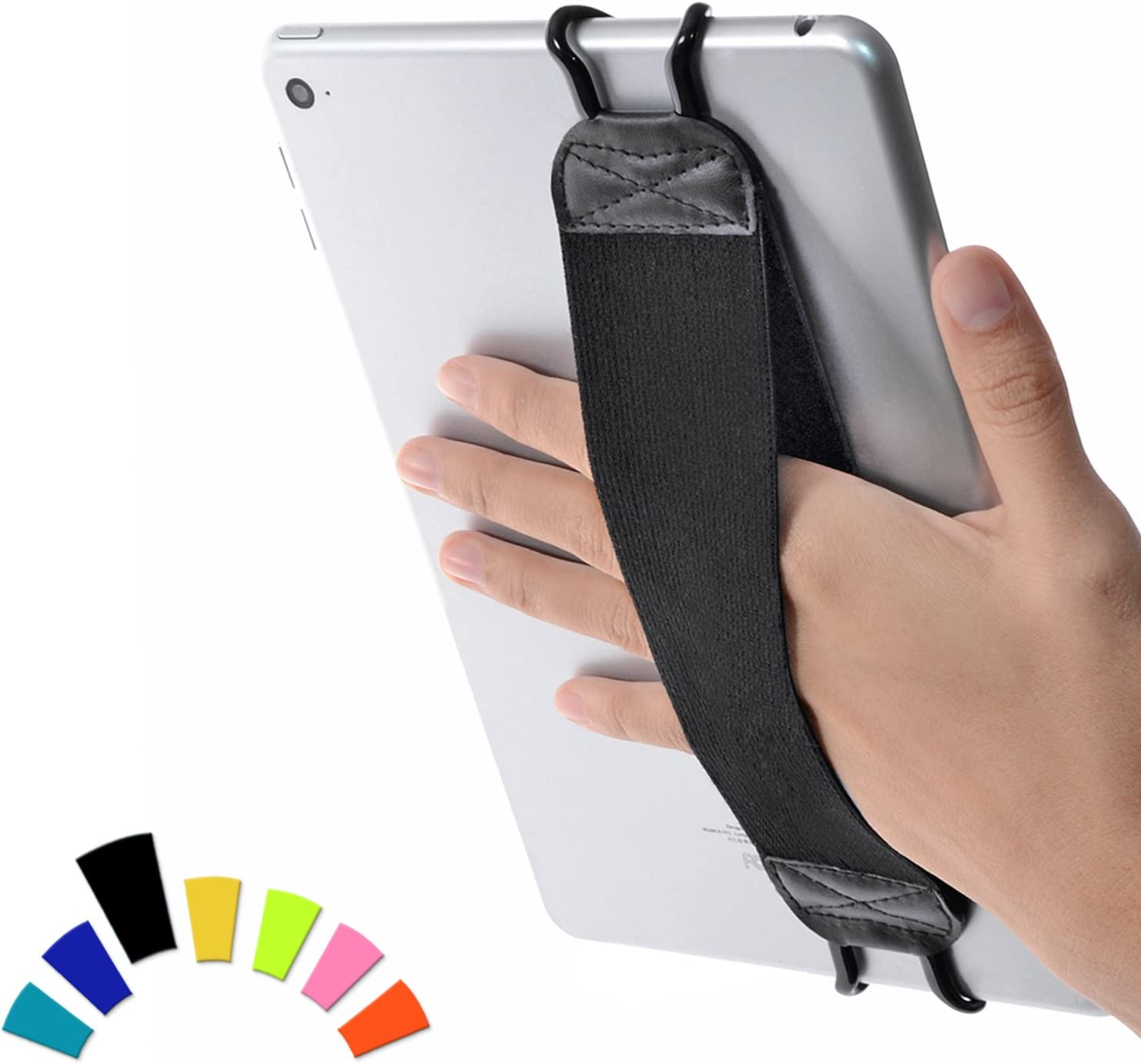 "TFY Security Hand Strap Holder for Tablets, iPad, e-Readers - Apple iPad, iPad 4 (iPad 2 & 3), iPad Air (iPad Air 2), iPad Mini - iPad Pro 9.7"" - Samsung Galaxy Tab - Google Nexus and More"