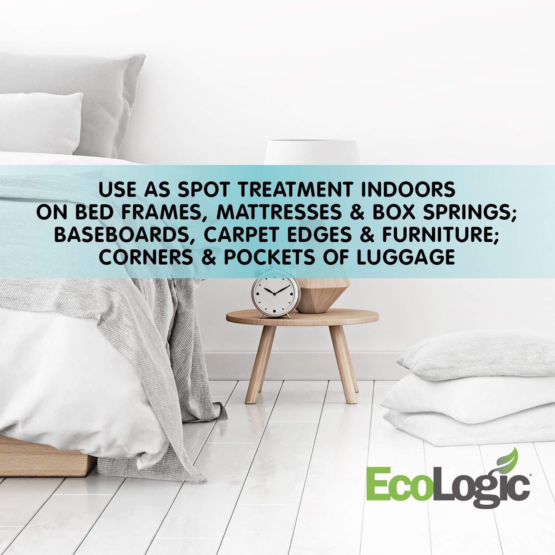 Amazon.com : EcoLogic Bed Bug Killer Aerosol, with Lemongrass Oil, 14-Ounce : Garden & Outdoor