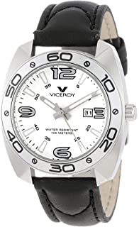 Viceroy Womens 46680-05 Communion Tonneau Stainless Steel Case Luminous Watch