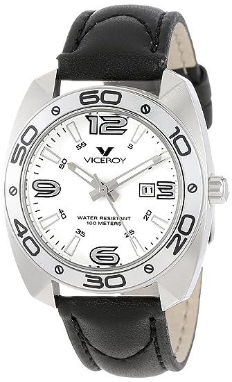 Viceroy Mujer 46680 - 05 Comunión Tonneau Caso de Acero Inoxidable Luminoso Reloj: Amazon.es: Relojes