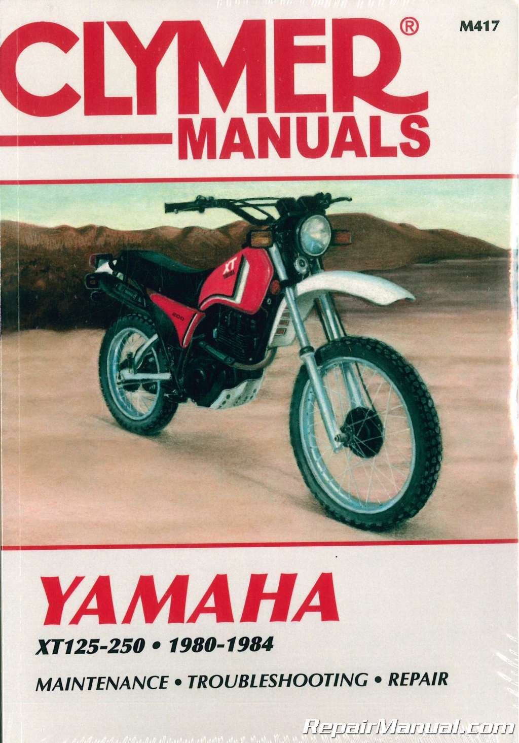 82 Yamaha Xt 200 Wiring Diagram All Kind Of Diagrams Dual Sport Motorcycle M417 1980 1984 Xt125 Xt200 Xt250 Clymer Repair Rh Amazon Com
