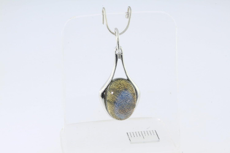 ARTIPOL Pendentif avec pierre v/éritable fabr P-30-10 europ/éenne style fran/çais Bijoux en argent R/éf Diverses pierres