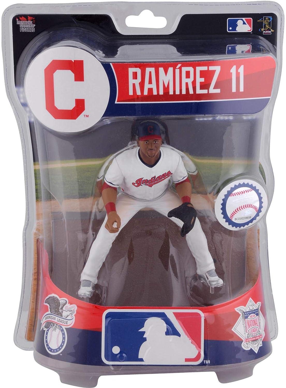 Jose Ramirez Cleveland Indians Imports Dragon 6' Player Replica Figurine - Fanatics Authentic Certified