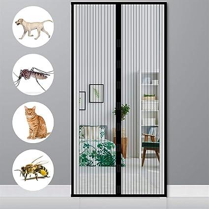 Fliegengitter Tür Magnet Insektenschutz Fliegenvorhang Fliegennetz Balkontür NEU