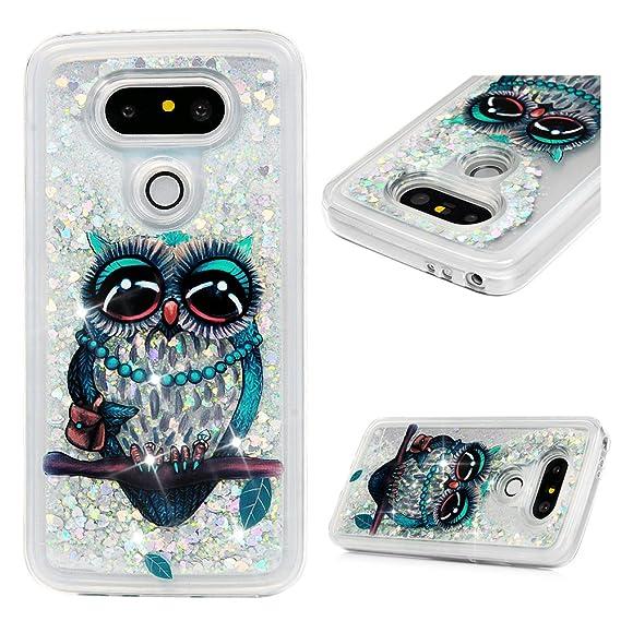 premium selection 1e232 40a79 LG G5 Case, LG G5 Phone Case, Glitter Liquid Case Cover Quicksand Bling  Sparkle Flowing Love Heart Slim Thin Shockproof Waterproof Soft TPU Bumper  ...