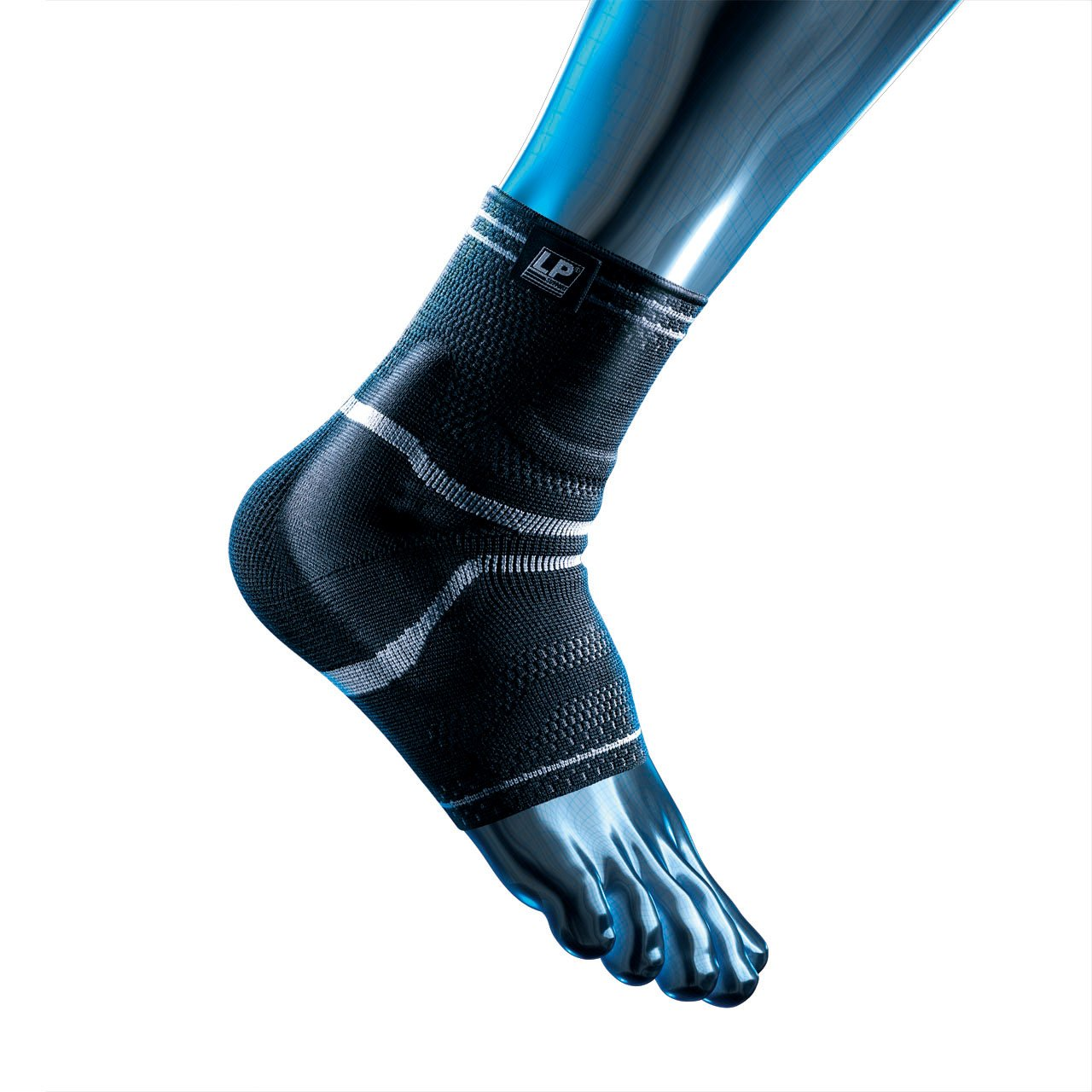 LP X-TREMUS Pro-Athlete Ankle Support - for injury prevention & support, X-Large