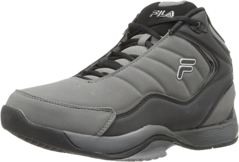 Fila Breakaway 4 del Hombre Baloncesto Zapatos, Color Gris, Talla ...